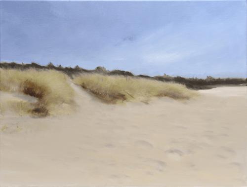 Dune 1 - Huile sur toile - 61x46