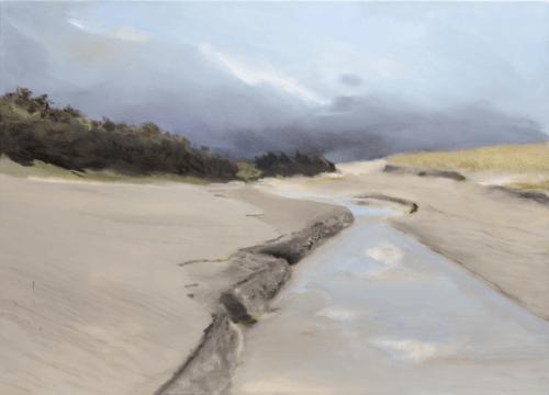 Dune 2 - Huile sur toile - 100x73