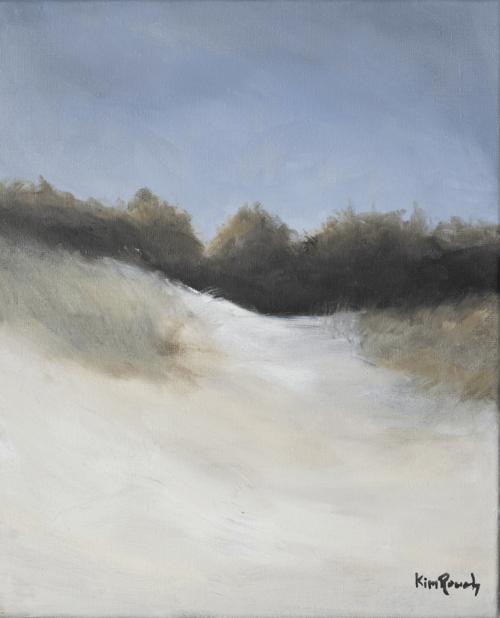 Dune 3 - Huile sur toile - 38x46