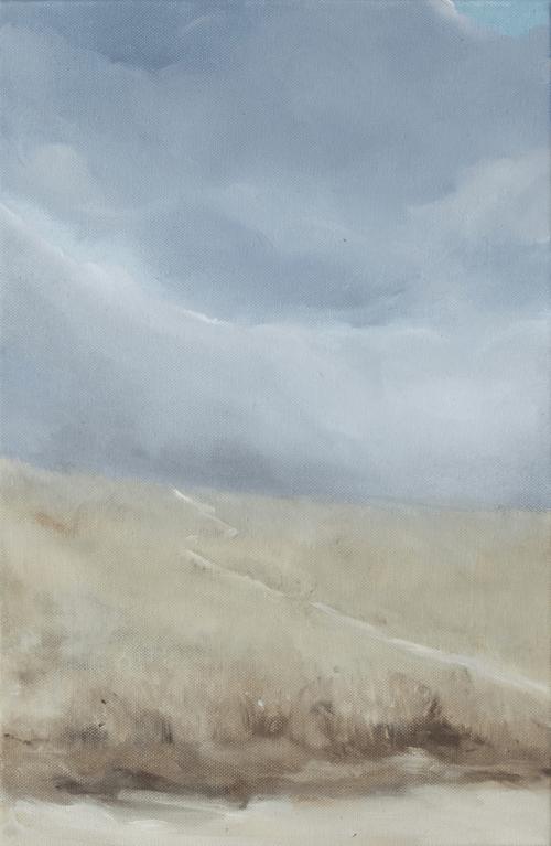 Dune 4 - Huile sur toile - 27x41