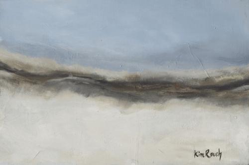 Dune 5 - Huile sur toile - 40x27