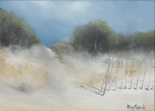 Dune 6 - Huile sur toile - 46x34