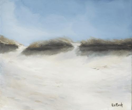 Dune 7 - Huile sur toile - 55x47