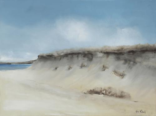 Dune 8 - Huile sur toile - 73x54