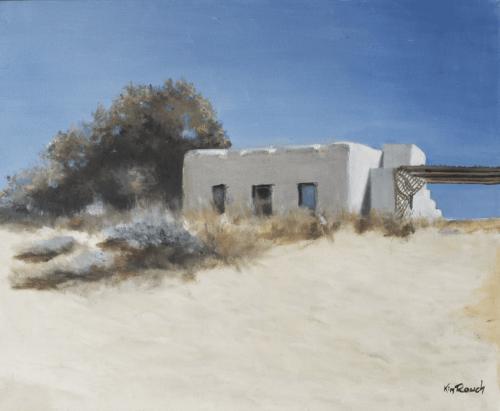 Dune 9 - Huile sur toile - 61x50