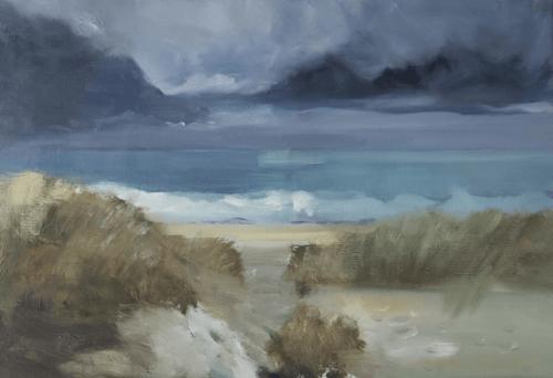 Vague 11 - Huile sur toile - 73x50